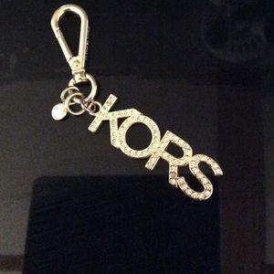 Michael Kors Gold keychain